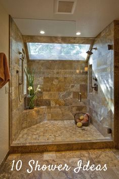 Beautiful master bathroom decor a few ideas. Modern Farmhouse, Rustic Modern, Classic, light and airy bathroom design ideas. Bathroom makeover a few ideas and master bathroom remodel suggestions. House Bathroom, Trendy Bathroom, Dream Bathrooms, Window In Shower, Master Bathroom Design, Elegant Bathroom, Amazing Bathrooms, Bathroom Shower Design, Tile Bathroom