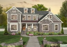 The House Designer's:  Stonecrest  awesome kitchen, keeping room, large island, walk in pantry, office in kitchen, GR main floor,  laundry and MB 2nd floor, workshop, 3 car garage, 3000 SF