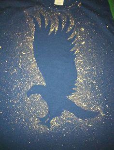 Splatter Eagle Ravenclaw T-shirt MADE TO ORDER