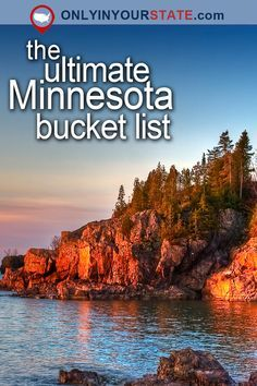 Travel | Minnesota | Attractions | USA | Bucket List | Things To Do | Places To Visit | St. Paul | Cities | Vacations | Destinations | Road Trips | Beautiful Places | Day Trips | North Shore | Duluth | National Park | Boundary Waters | Scenic Byway | National Monument | Outdoor | Adventure | Petroglyphs | State Parks | Landscape