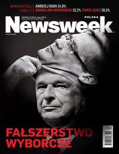 Oryginalna wersja okładki #Newsweek