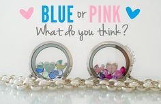 Great idea for a gender reveal party!   #44562 www.blessedstories.origamiowl.com