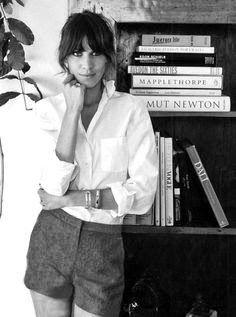 Valentina: white shirt