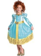 $39.99 Deluxe Brave Merida Costume for Girls-Party City