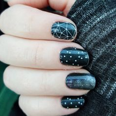 (Had to do my space nails too for the Museum of Flight haha.) #cosmosjn #amongthestarsjn #trushinejn