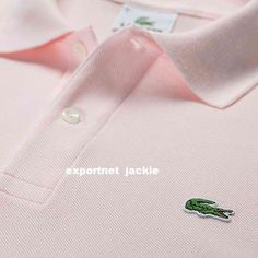 Pink #polo #lacoste