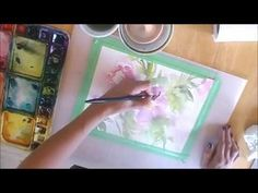 Paint a Wild Rose in Watercolor