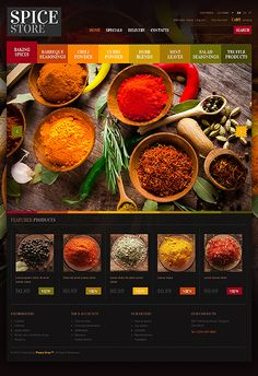 Prestashop template epicerie black