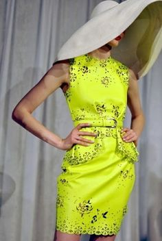 Radiate This Spring: Neon Yellow!!!