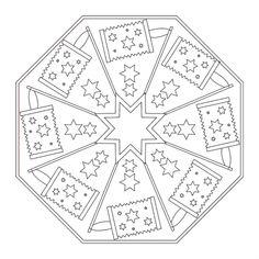 Laternen-Mandala 1