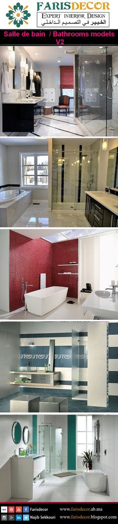 Bathrooms Decoration #Interior #Exterior #Floor #Ceiling #Wall