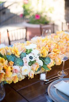 Ways to Use Succulents in Your Wedding | Brides