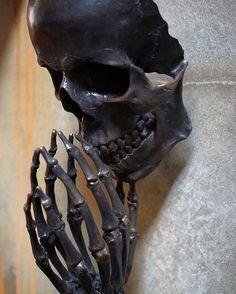 dark art sculpture