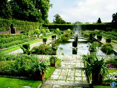 """THOUGH WE TRAVEL the world over to find the beautiful, we must carry it with us or we find it not."" - Ralph Waldo Emerson .... * Kensington Palace, Sunken Garden, England."
