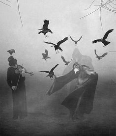 Explore the The Horror collection - the favourite images chosen by on DeviantArt. Dark Fantasy, Fantasy Art, The Magic Faraway Tree, Quoth The Raven, Crows Ravens, Plague Doctor, Nocturne, Dark Art, Illustration