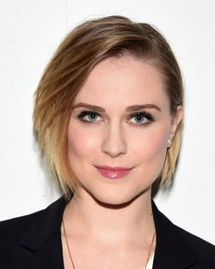 If you would like a cool bob, this one rocked by Evan Rachel Wood may meet your…