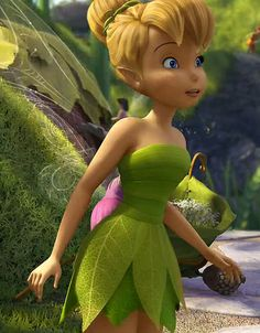 Closer up pic of Tinkerbell's Great Fairy Rescue dress