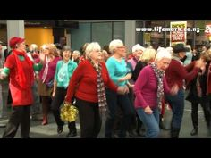 Lifemark Flash Mob: The World's Oldest Flash Mob - YouTube