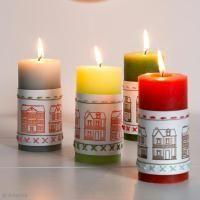 DIY: Decorar velas de Navidad