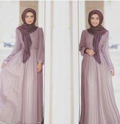 purple hijab maxi dress, Modest street hijab fashion http://www.justtrendygirls.com/modest-street-hijab-fashion/