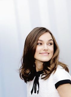 overslept, hair unsightly, tryna look like keira knightley . . .