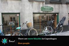 #bicycle #Copenhagen #facts