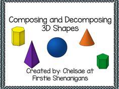 Breaking apart 3D shapes