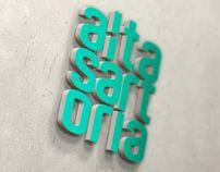 AltaSartoria web design agency by Claudio Caciagli, via Behance