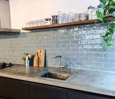 Küchen Design, Interior Design, Dream Apartment, Kitchen Organization, Wood Wall, Backsplash, Room Inspiration, Home Remodeling, Tiles