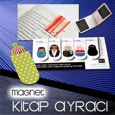 Magnet kitap ayracı, aslında yıllardan beri yapılmakta olsa da son bir iki yıldan beri popülerlik kazandı ve daha çok görünür oldu.  www.magnettoptan.com