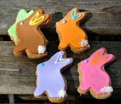 Spring Bunny cookies  www.masnax.com