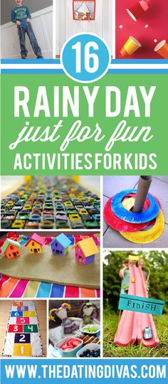 Rainy Day Activities for Kids!
