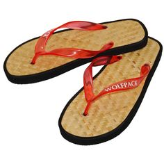 59b54c7b4d23 Montego Bamboo Sandals with Vinyl Straps Bring the tropics alive with these  exotic sandals featuring an earth-friendly bamboo sole