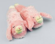 """Pink Bunny Slippers 
