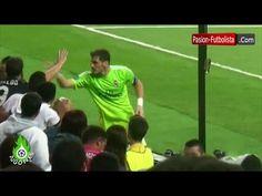 Lindo Gesto de Iker Casillas Regala sus Guantes,Botines y la Banda a los Aficionados del Real Madrid