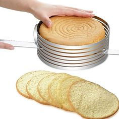 Cheap layer cake slicer, Buy Quality cake cutter round directly from China bread slicer Suppliers: Delidge 1 pc Adjustable Cake Cutter Round Shape Bread Cake slicer Adjustable Layered Cake Slicer Mold Cutter Ring Tools Mousse Fruit, Mousse Cake, 7 Layer Cakes, Bolos Naked Cake, Cake Leveler, Cake Slicer, Tool Cake, Cake Cutters, Baking Accessories