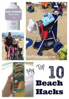 Check out my Top 10 Beach Hacks. Don't lose anything in the sand every again with these cool tips and tricks. These are beach hacks for anyone.