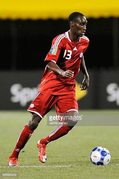 Atiba Hutchinson of Canada controls the ball against El Salvador during a CONCACAF Gold Cup match at Crew Stadium on July 7 2009 in Columbus Ohio