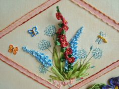 Ribbon Embroidery, Embroidery Designs