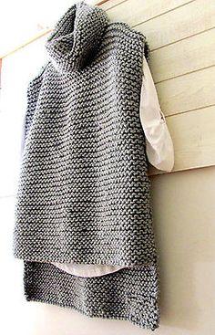 Tortuga De Punto Grueso Chaleco Capucha Chaleco Jersey de cuello para mujer ropa para hombres