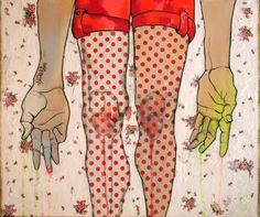 "Saatchi Online Artist: Lena Kramarić; Mixed Media, 2012, Painting ""When I grow up I will be big """