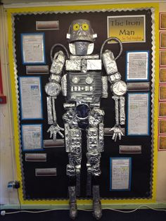 Our Class Iron Man all finished.