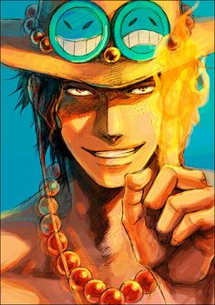 Ace #one piece I had a crush on him when I was a kid lol