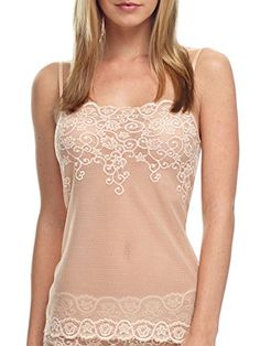 fb4bf6c319 Commando Tulip Lace Cami Ivory Cross Dye SM   More info could be found at  the