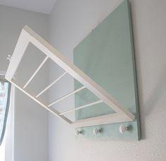 Fold away drying rack