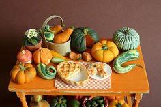 autumn squashes and pumpkins