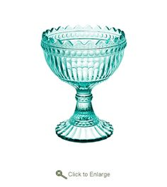 iittala / Marimekko Small Water Green Maribowl A tiny take on the traditional iittala Maribowl, made of pressed colored glass, and formed into a beautiful ornate goblet, the iittala Small Water Green Maribowl is a beautiful modern and miniature Fin.