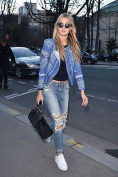 La modelo se ha convertido en una de las it-girls más asediadas no sólo por su labor como modelo, sino por su estilo y personalidad.