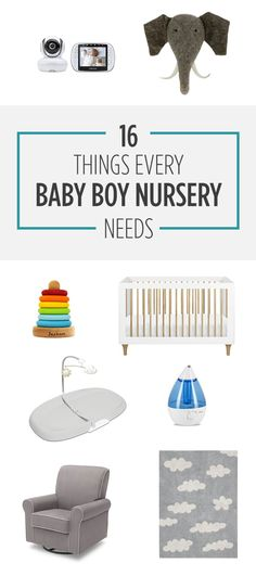 Baby Boy Nursery: The Essential Guide-Baby Boy Nursery: The Essential Guide Everything you need to furnish and decorate your baby boy's room. Get baby room ideas, must-have baby furniture, and see what crib bedding you need. Boy Nursery Bedding, Nursery Dresser, Nursery Wall Decals, Crib Bedding, Baby Boy Rooms, Baby Boy Nurseries, Baby Room, Nursery Themes, Nursery Ideas