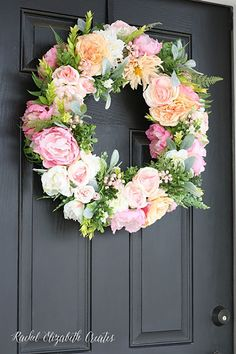 Floral Wreath - CountryLiving.com